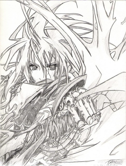 Square Enix, Final Fantasy VII, Cloud Strife, Original, Member Art