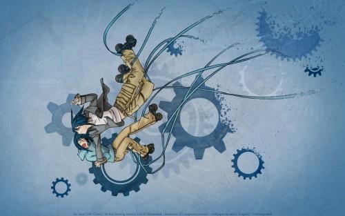Oh! Great, Air Gear, Akito Wanijima, Vector Art Wallpaper