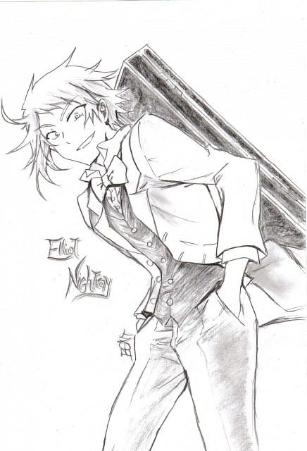 Jun Mochizuki, Xebec, Pandora Hearts, Eliot Nightray, Member Art