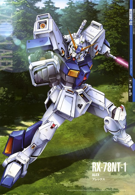 Sunrise (Studio), Mobile Suit Gundam - Universal Century, Mobile Suit Gundam 0080, Gundam Perfect Files