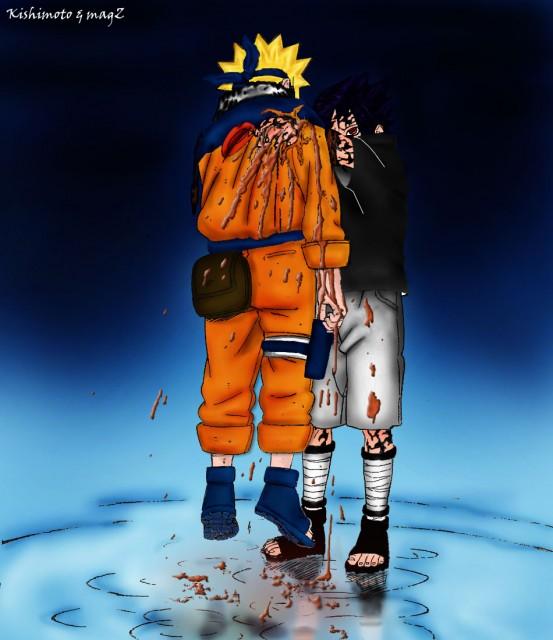 Studio Pierrot, Naruto, Naruto Uzumaki, Sasuke Uchiha, Colorizations