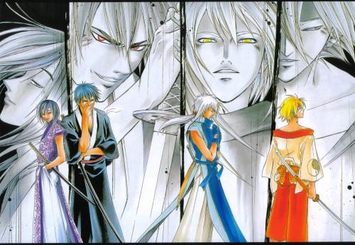 Akimine Kamijyo, Studio DEEN, Samurai Deeper Kyo, Hotaru (SDK), Demon Eyes Kyo