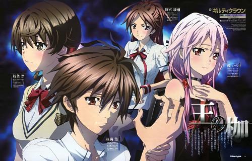 Ryu Shinkawa, Production I.G, GUILTY CROWN, Hare Menjou, Inori Yuzuriha