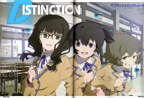 Black Rock Shooter, Mato Kuroi, Yomi Takanashi, Yuu Koutari, Magazine Page