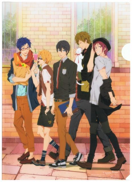 Futoshi Nishiya, Kyoto Animation, Free!, Makoto Tachibana, Haruka Nanase (Free!)