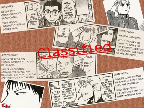 Hiromu Arakawa, BONES, Fullmetal Alchemist, Roy Mustang, Vato Falman Wallpaper
