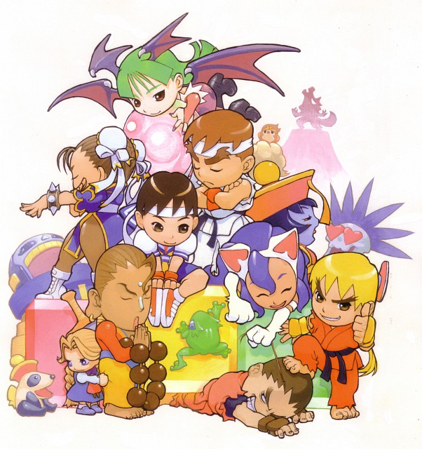 Bengus, Capcom, Street Fighter 20th Anniversary Artworks, Rival Schools, Street Fighter
