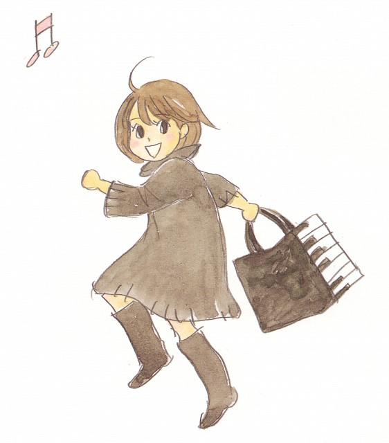 Nodame Cantabile Ninomiya Tomoko: Nodame Cantabile: Nodame Illustrations P.90