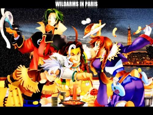 Wild Arms 3, Wild Arms, Clive Winslett, Gallows Carradine, Virginia Maxwell Wallpaper