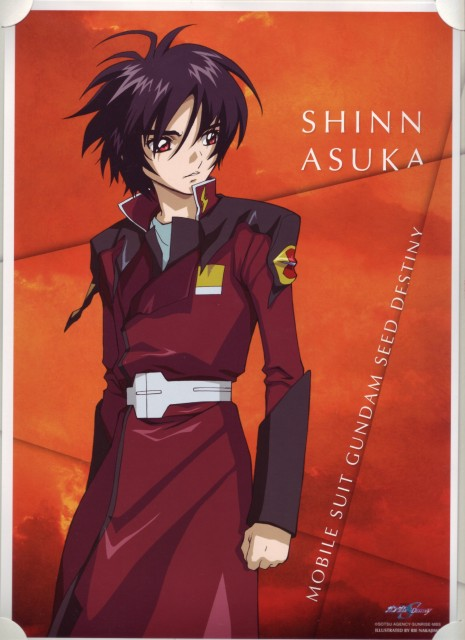 Sunrise (Studio), Mobile Suit Gundam SEED Destiny, Shinn Asuka