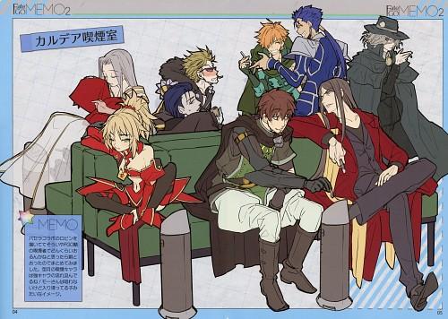 rco wada, Fate/Grand Order, Sakata Kintoki, Edmond Dantes (Fate/Grand Order), Mordred