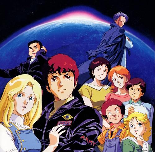 Hiroyuki Kitazume, Sunrise (Studio), Mobile Suit Zeta Gundam, Mirai Yashima, Frau Bow