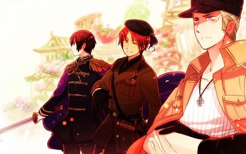 Hetalia: Axis Powers, Italy, Japan, Germany, Member Art