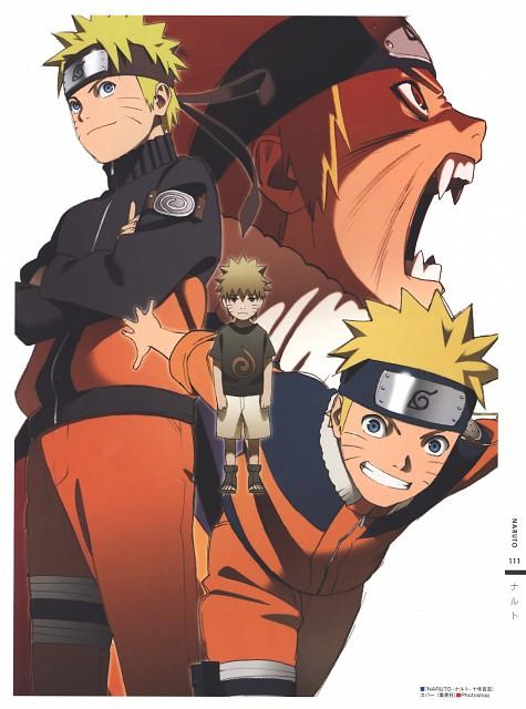 Studio Pierrot, Naruto, The Art of Tetsuya Nishio: Full Spectrum, Naruto Uzumaki
