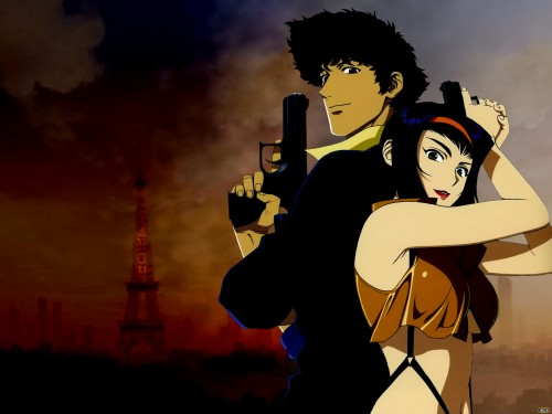 Toshihiro Kawamoto, Sunrise (Studio), Cowboy Bebop, Spike Spiegel, Faye Valentine Wallpaper