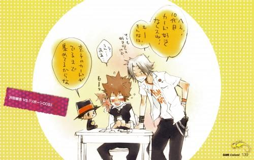 Akira Amano, Katekyo Hitman Reborn!, Colore!, Tsunayoshi Sawada, Leon (Katekyo Hitman Reborn!)