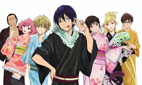 Toka Adachi, BONES, Noragami, Daikoku, Yukine (Noragami)