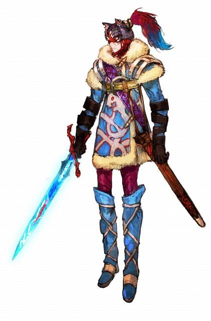 toi8, Square Enix, I Am Setsuna, Protagonist (I Am Setsuna)