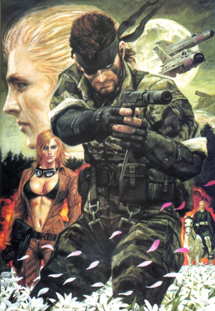 Konami, Metal Gear Solid, Big Boss