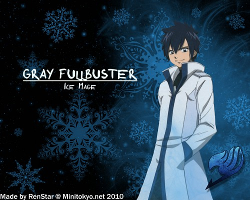 Hiro Mashima, Satelight, Fairy Tail, Gray Fullbuster Wallpaper
