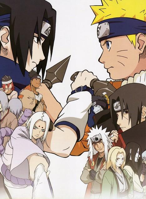 Studio Pierrot, Naruto, Kisame Hoshigaki, Kidoumaru, Kimimaro Kaguya