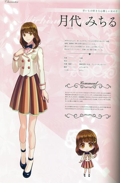 Kana Yamamoto, Idea Factory, Jewelic Nightmare Official Art Book, Jewelic Nightmare, Michiru Tsukishiro