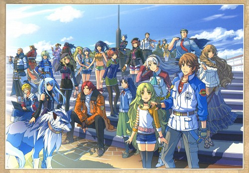 Falcom, The Legend of Heroes Illustration Artbook, The Legend of Heroes: Zero no Kiseki, The Legend of Heroes: Ao no Kiseki, Lazy Hemisphere