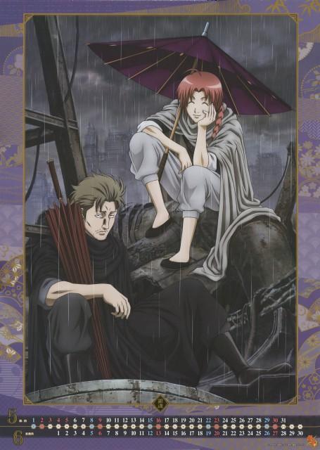 Hideaki Sorachi, Sunrise (Studio), Gintama, Abuto, Kamui (Gintama)