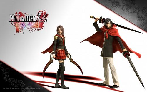 Square Enix, Final Fantasy Type-0, Rem Tokimiya, Machina Kunagiri, Official Wallpaper