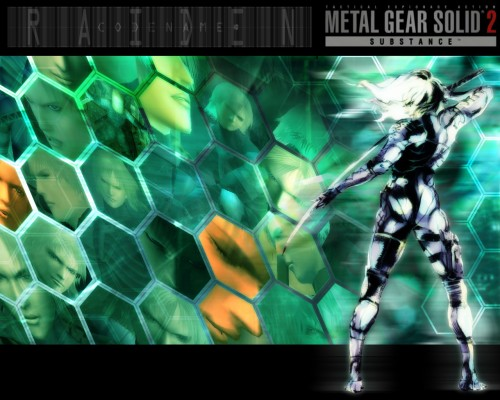 Konami, Metal Gear Solid, Raiden Wallpaper