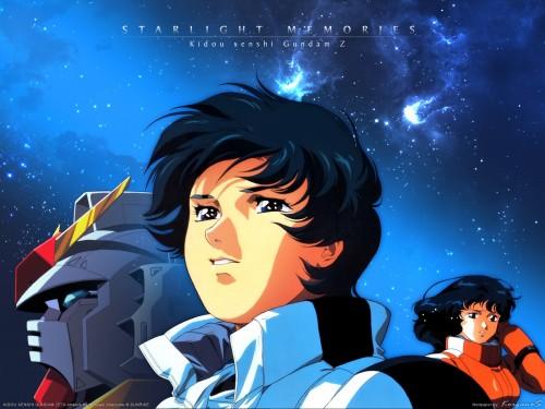 Sunrise (Studio), Mobile Suit Zeta Gundam, Kamille Bidan Wallpaper