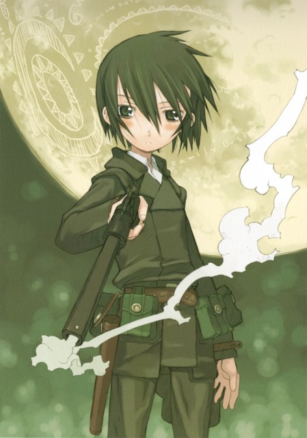 Kouhaku Kuroboshi, Kino no Tabi, The Beautiful World, Kino