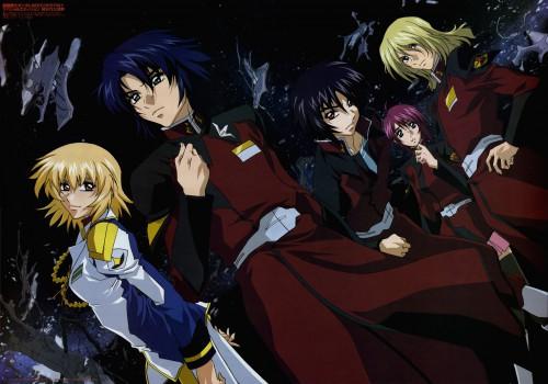 Sunrise (Studio), Mobile Suit Gundam SEED Destiny, Cagalli Yula Athha, Athrun Zala, Rey Za Burrel
