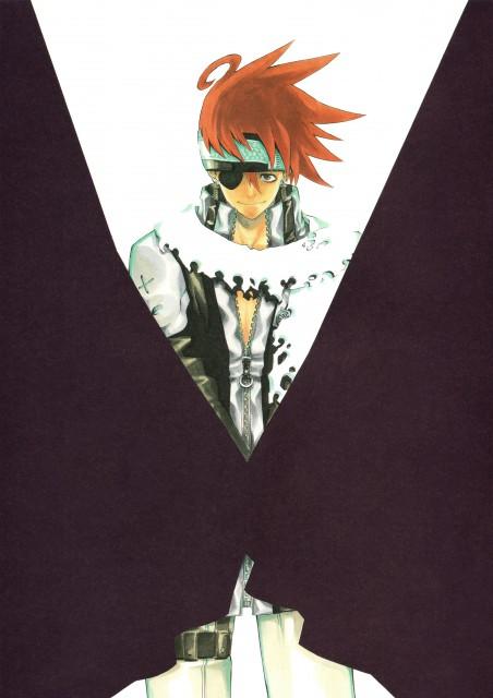 Katsura Hoshino, D Gray-Man, Noche - D.Gray-man Illustrations, Lavi