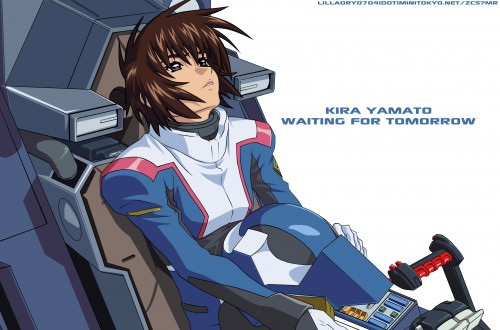 Sunrise (Studio), Mobile Suit Gundam SEED Destiny, Kira Yamato, Vector Art