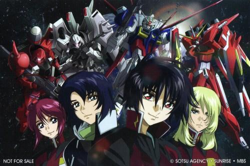 Sunrise (Studio), Mobile Suit Gundam SEED Destiny, Lunamaria Hawke, Athrun Zala, Shinn Asuka