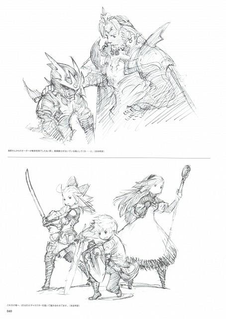 Akihiko Yoshida, Square Enix, Bravely Default, Braev Lee, Tiz Arrior