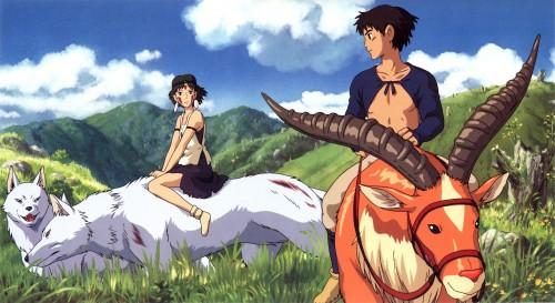 Kazuo Oga, Studio Ghibli, Princess Mononoke, San, Yakul