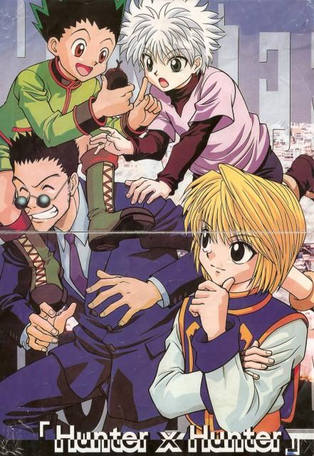 Yoshihiro Togashi, Nippon Animation, Hunter x Hunter, Leorio, Killua Zaoldyeck