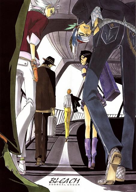 Kubo Tite, Bleach, Rukia Kuchiki, Ichigo Kurosaki, Yasutora Sado