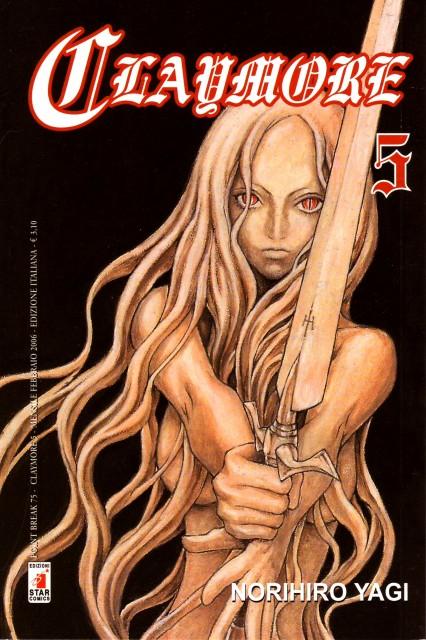 Norihiro Yagi, Madhouse, Claymore, Teresa, Manga Cover