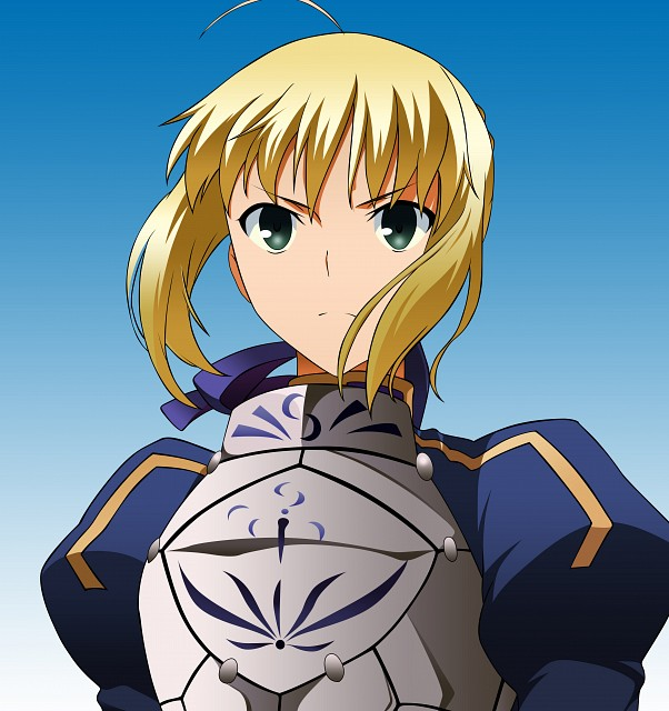 Fate/stay night, Saber, Vector Art