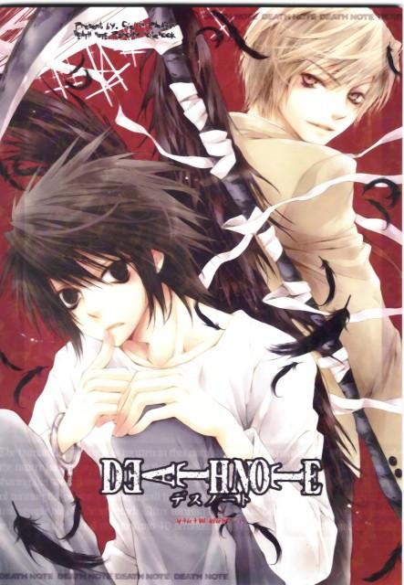 Death Note, L, Light Yagami, Doujinshi, Doujinshi Cover