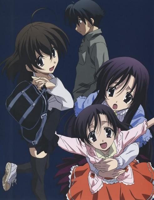 TNK, Overflow, School Days, Sekai Saionji, Kotonoha Katsura