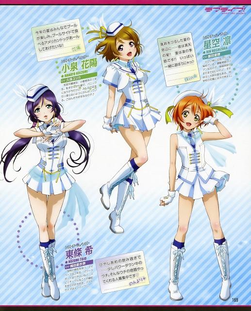Sunrise (Studio), Love Live! School Idol Project, Rin Hoshizora, Hanayo Koizumi, Nozomi Tojo