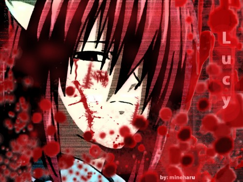 Lynn Okamoto, Studio ARMS, Elfen Lied, Lucy Wallpaper