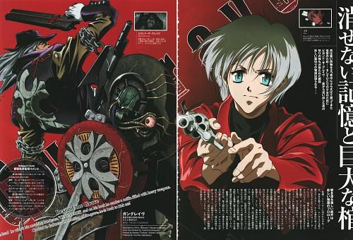 Madhouse, Gungrave, Mika Asagi, Brandon Heat, Magazine Page