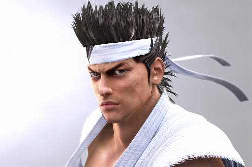 Sega, TMS Entertainment, Virtua Fighter, Akira Yuki