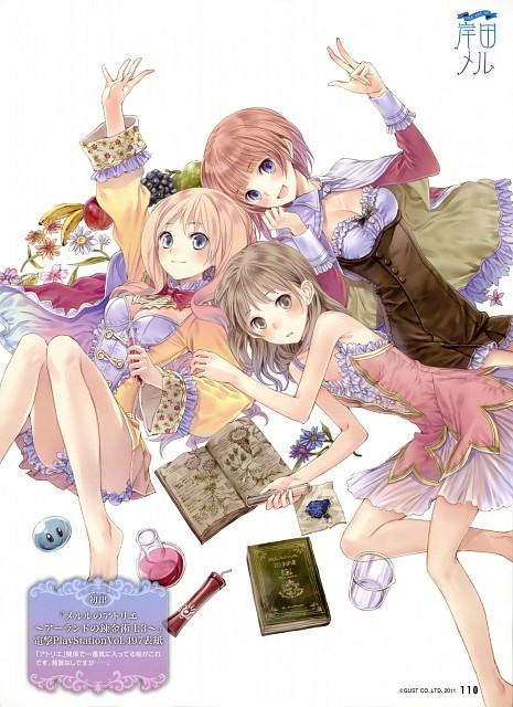 Mel Kishida, Gust, Atelier Meruru, Atelier Rorona, Atelier Totori