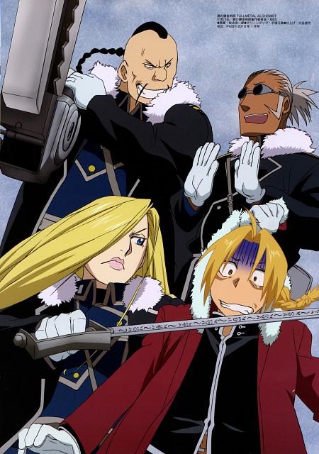 BONES, Fullmetal Alchemist, Olivier Mira Armstrong, Edward Elric, Buccaneer